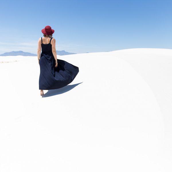 Katrina in White Sands, New Mexico