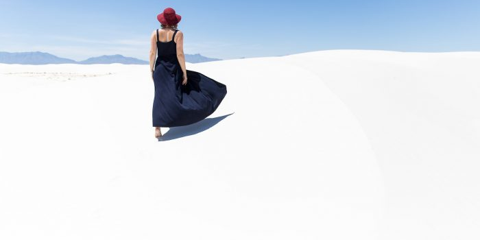 Katrina in White Sands, New Mexico