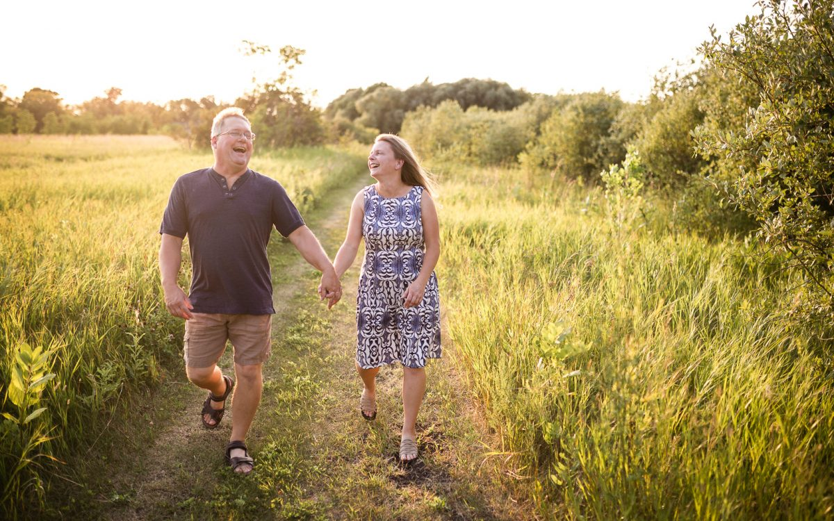 Rob & Nadine / Lockport Engagement Session