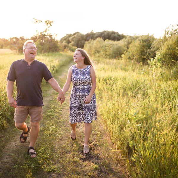 Rob & Nadine / Lockport Engagement Session