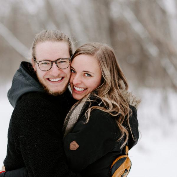Logan & Alixe / St. Vital Park Engagement