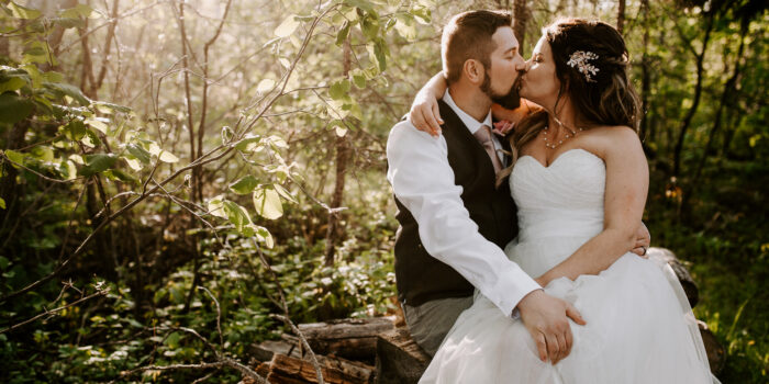 Kris & Valerie / Intimate Backyard Wedding