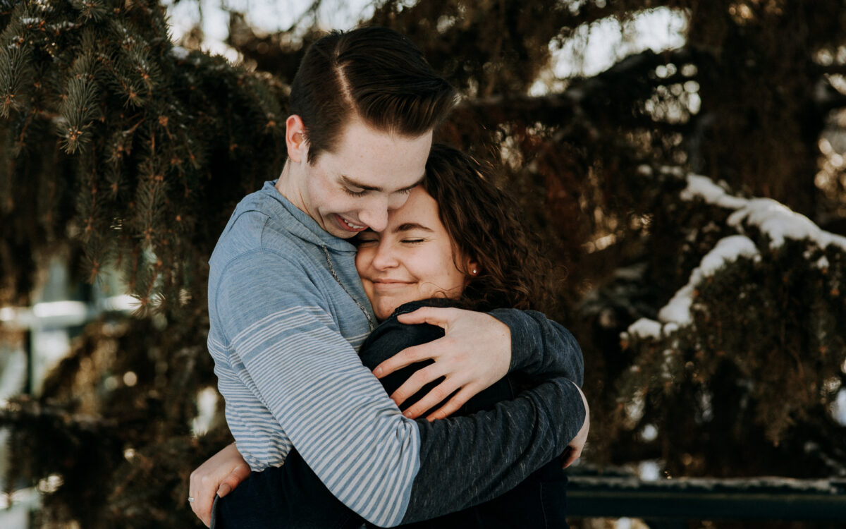 Nathan & Angelica / Engagement Session at the Forks