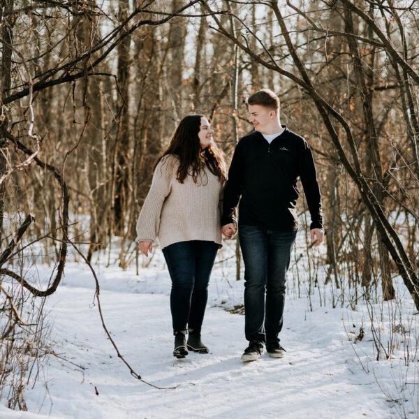 Jordan & Emma / St. Vital Park Engagement