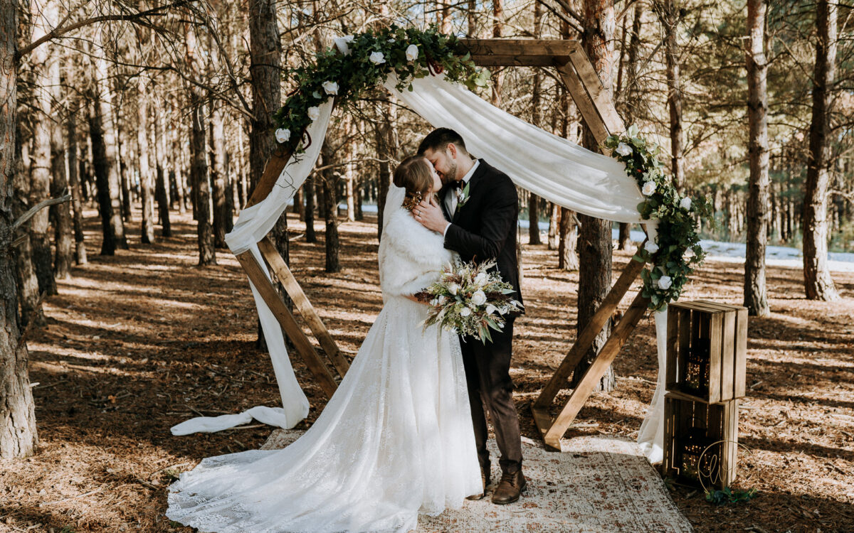 Norman & Selina / Intimate Forest Wedding
